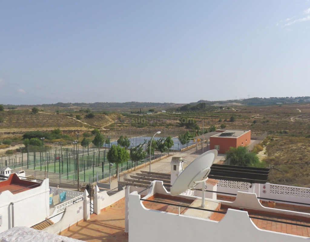 Semi detached house with swimming pool and for San miguel de salinas swimming pool