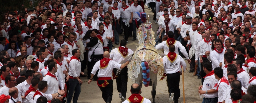 Monday 2nd May Caballos Del Vino Fiesta Caravaca de la Cruz