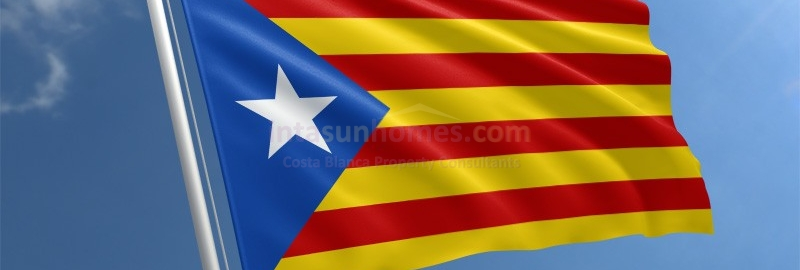 Five minutes silence in memory of the victims of yesterdays terrorist attacks in Catalonia