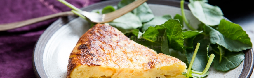Classic Spanish Potato Omelette!