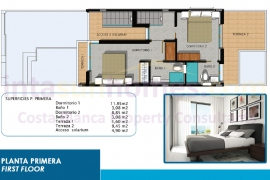 New build - Townhouse - Orihuela Costa - La Zenia