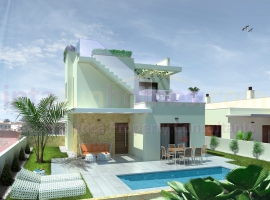 Detached Villa - New build - Ciudad Quesada - Pueblo Bravo
