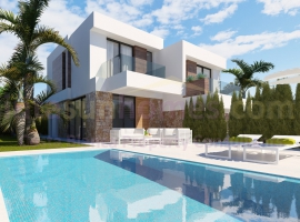 Semi Detached Villa - New build - Finestrat - Finestrat - Town