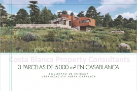 Obra Nueva - Plot of Land - Caravaca de la Cruz - Casablanca