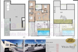 New build - Bungalow - San Javier - Santiago de la Ribera