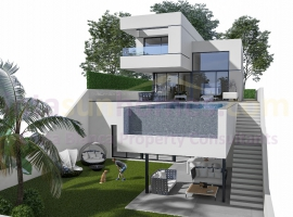 Detached Villa - New build - Polop - Polop - Town